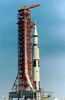 Apollo 10 on launch pad