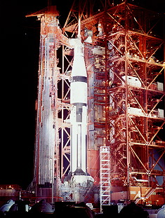 Apollo 7 on launch pad