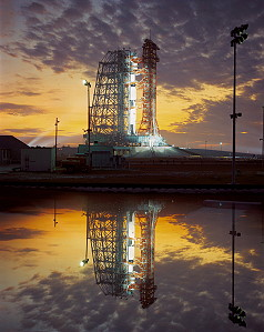 Apollo 8 on launch pad