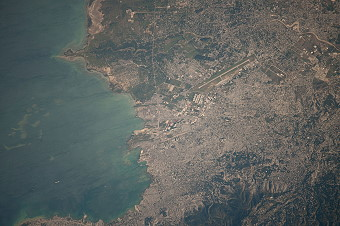 Port-au-Prince (Haiti) after the earthquake