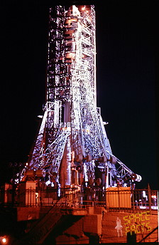Soyuz 15 on the launch pad