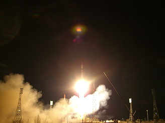 Soyuz TMA-10 launch