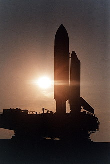 STS-84 rollout