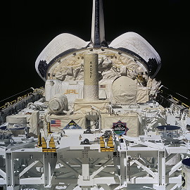 STS-87 in orbit