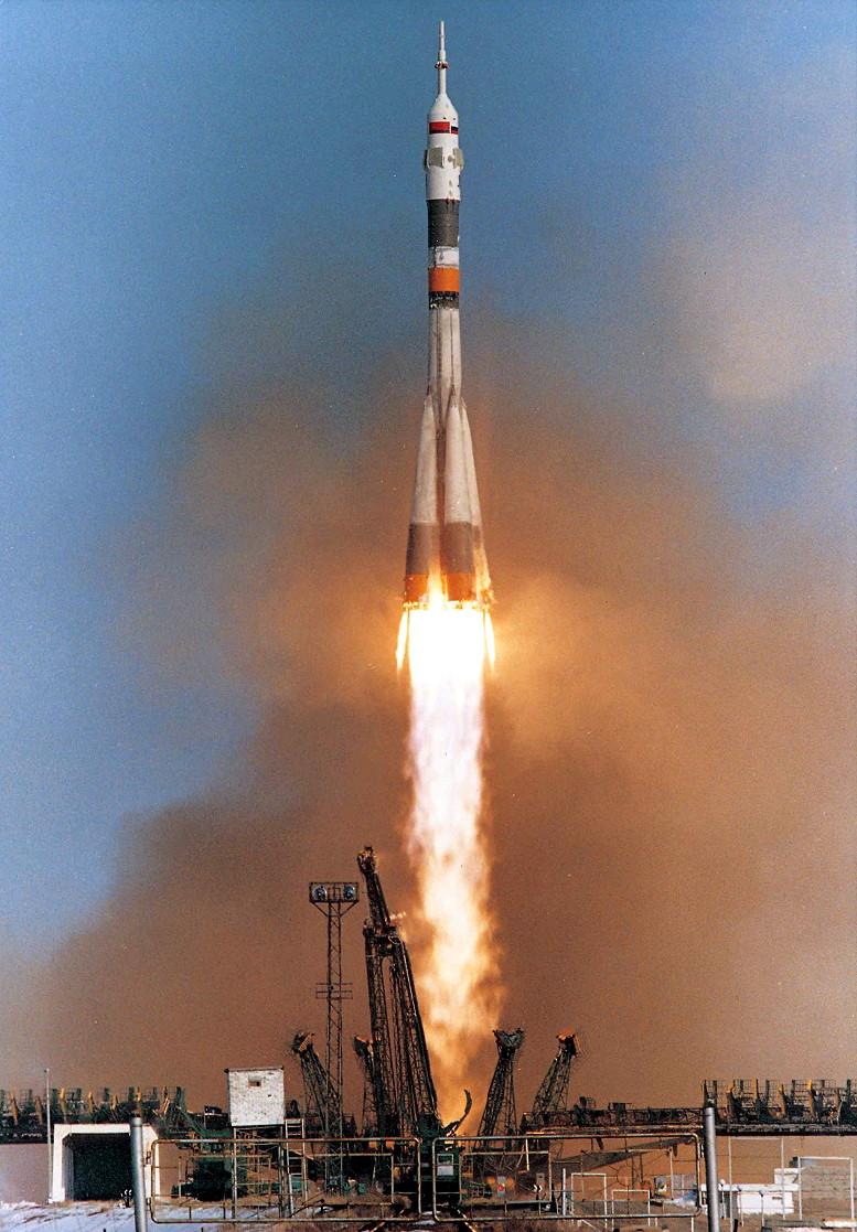 Image result for soyuz tm-15 launch