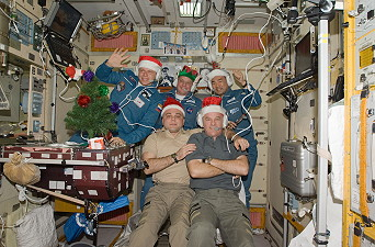 ISS-22 - Christmas in Space