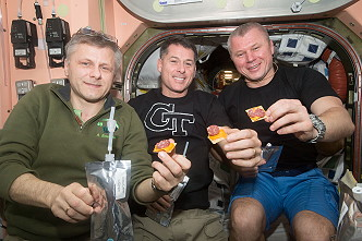 Meal onboard the ISS