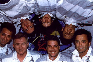traditional in-flight photo STS-78