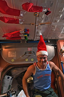 Christmas on the ISS