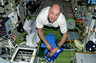 Kuipers onboard the ISS