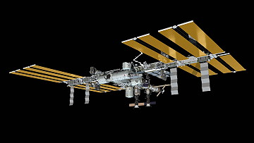 ISS as of March 28, 2013