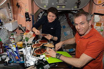 Pizza on ISS