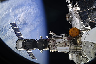 Soyuz MS-12 undocking