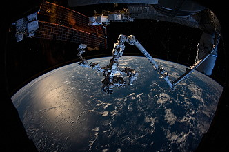 Canadarm with Dextre