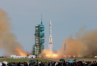Shenzhou X launch
