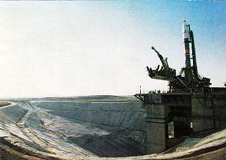Soyuz 40 on the launch pad