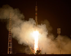 Soyuz MS-03 launch