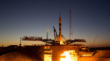 Soyuz MS-05 launch
