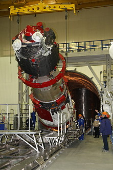 Soyuz MS-08 integration
