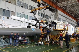 Soyuz MS-10 integration