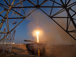 Soyuz MS launch