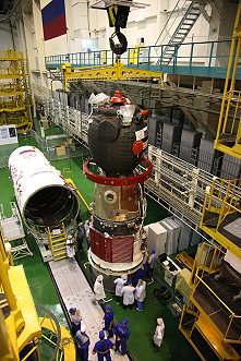 Soyuz TMA-10M integration