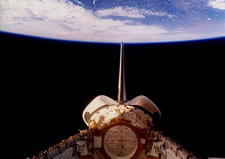 STS-26 in orbit