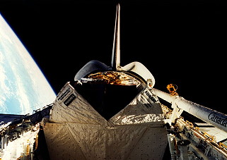 STS-51I in orbit