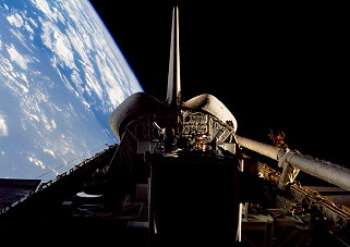 STS-51G in orbit