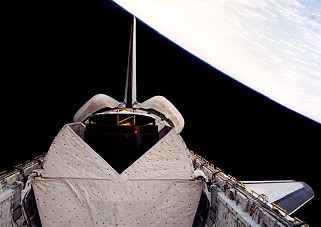 STS-5 in orbit