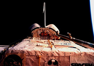 STS-77 in orbit