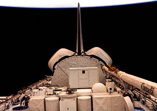 STS-7 in orbit