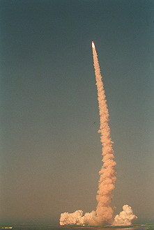 STS-105 launch