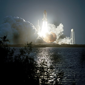 STS-108 launch