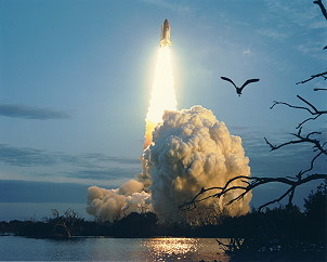 STS-32 launch