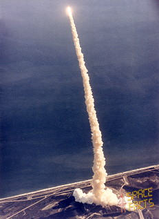 STS-42 launch