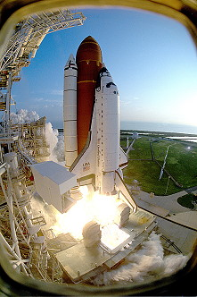 STS-51 launch