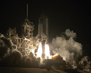 STS-61 launch