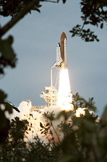 STS-69 launch