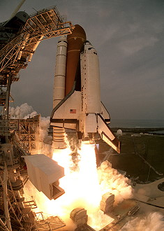 STS-75 launch