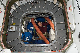 Kimbrough inside Cygnus