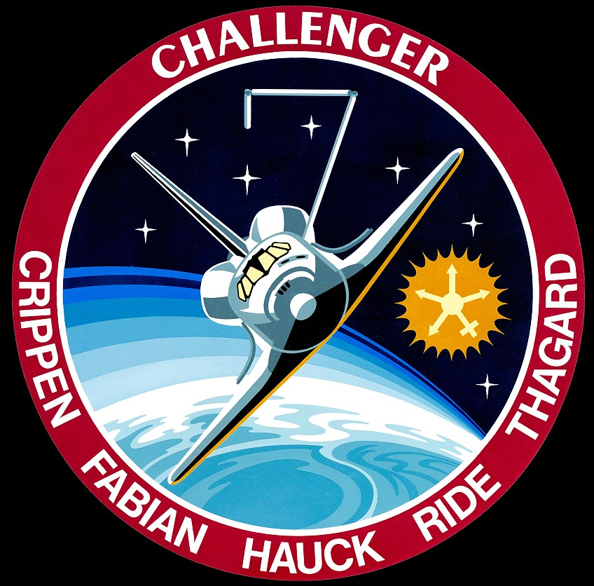Sally Ride NASA Name Patch - Pics about space